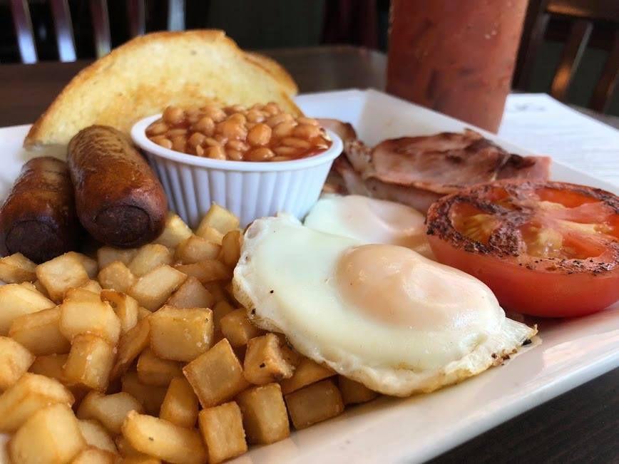 An Irish breakfast from Irish Snug
