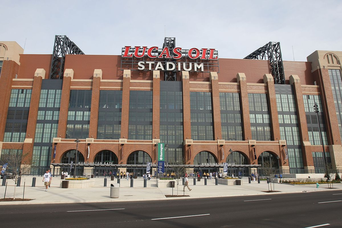 Indianapolis Colts' home, the Lucas Oil Stadium