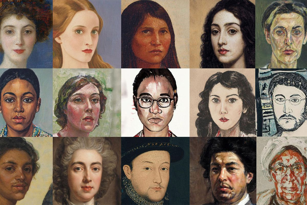 A few of the images generated by AI Portraits