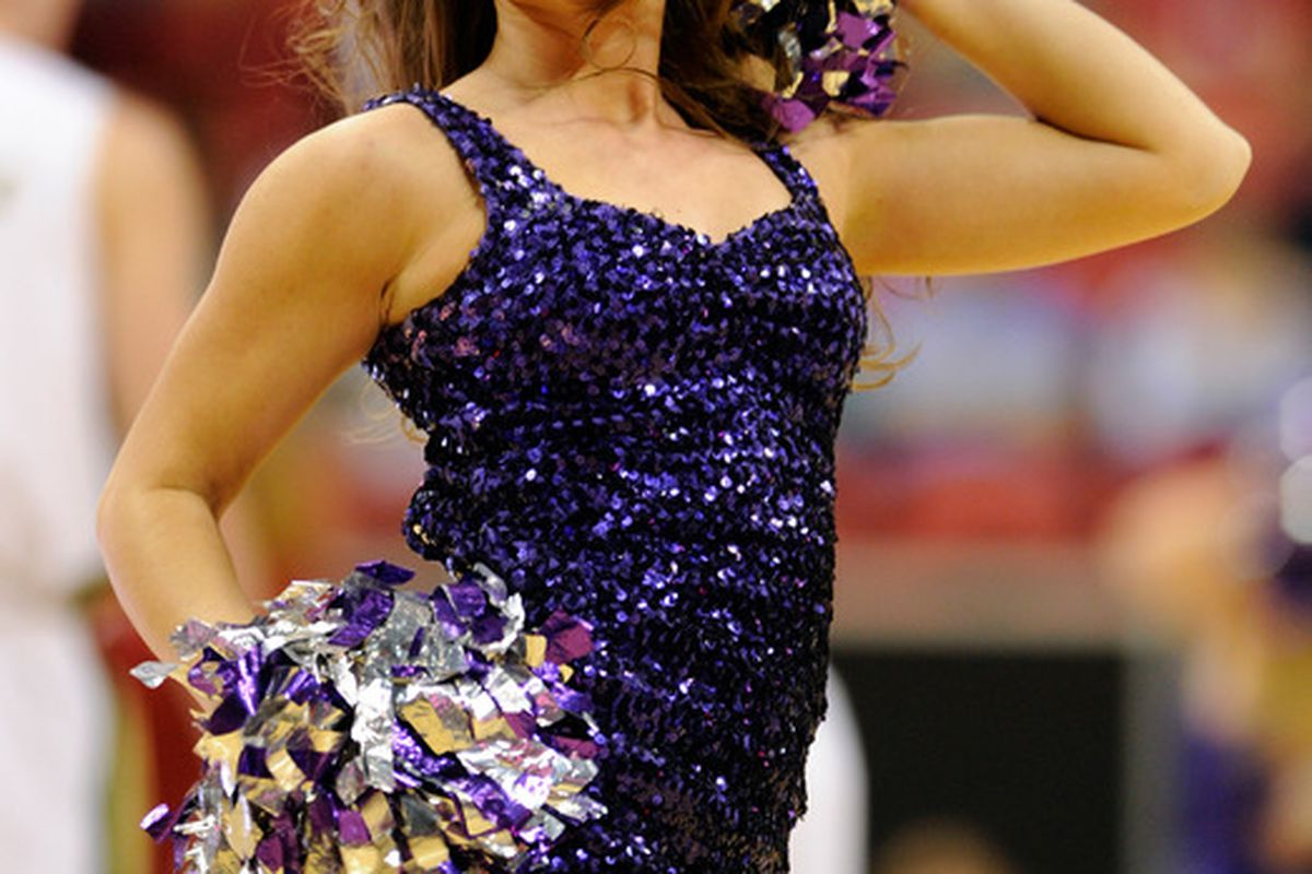 All of TCU is excited that the Frogs are returning to the basketball postseason, cheerleaders included!