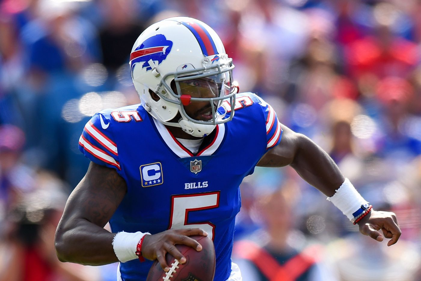 88ceeb41 Tyrod Taylor now has more rushing yards than any Buffalo Bills ...