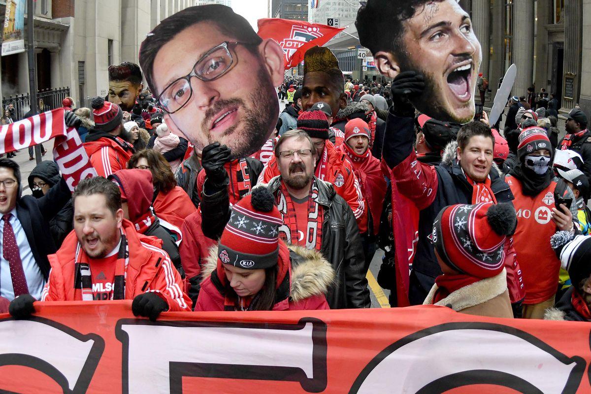 MLS: MLS CUP-Toronto FC Champions Parade