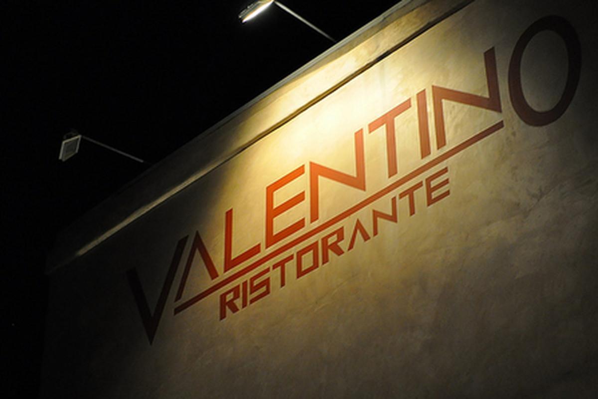 Outside Valentino, Santa Monica.