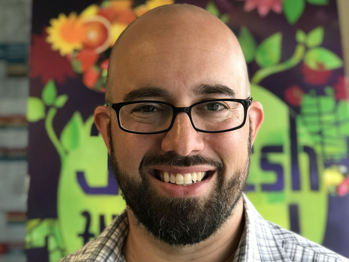 Aaron Siebert-Llera, an attorney with the Inner-City Muslim Action Network. | Provided photo