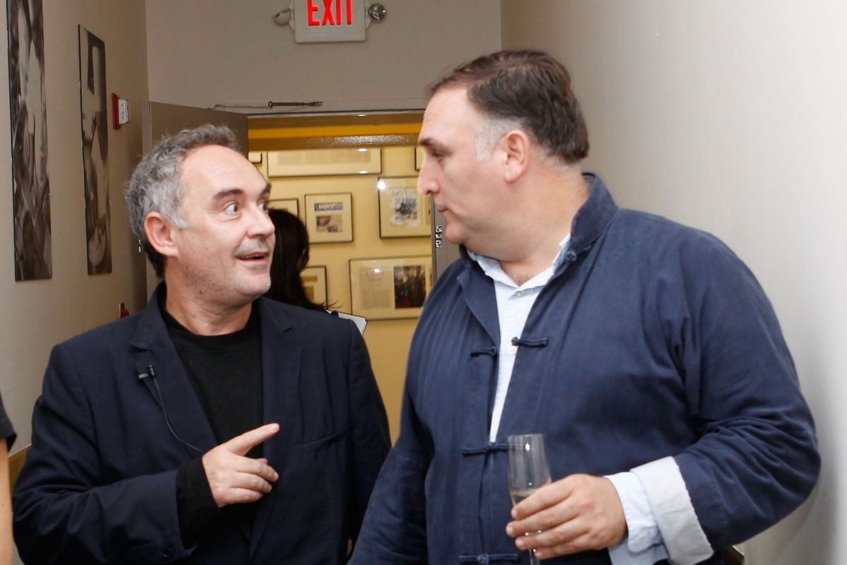 Ferran Adria In Conversation With Colman Andrews at The International Culinary Center, Home of The French Culinary Institute