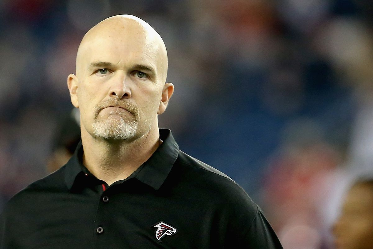 Dan Quinn Looks Like Cat Scratch Reader