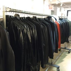 Leather jacket sample collection