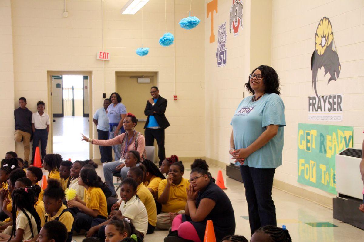 Principal Yolanda Dandridge has led Georgian Hills Achievement Elementary for the last two years.