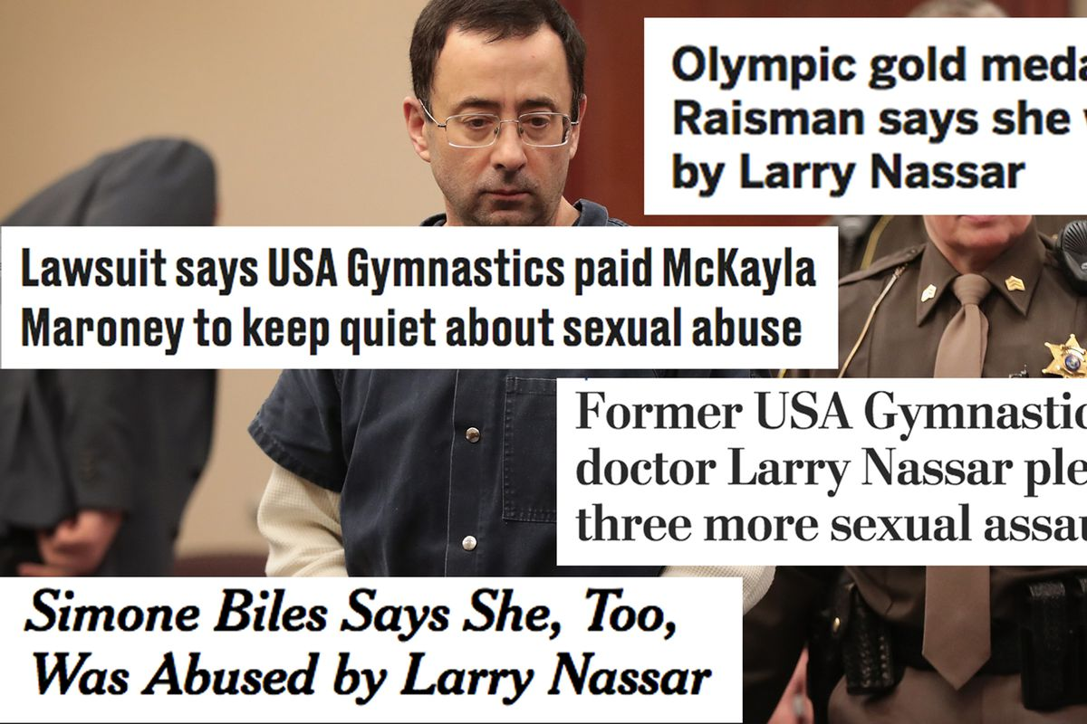 A comprehensive timeline of the larry nassar case