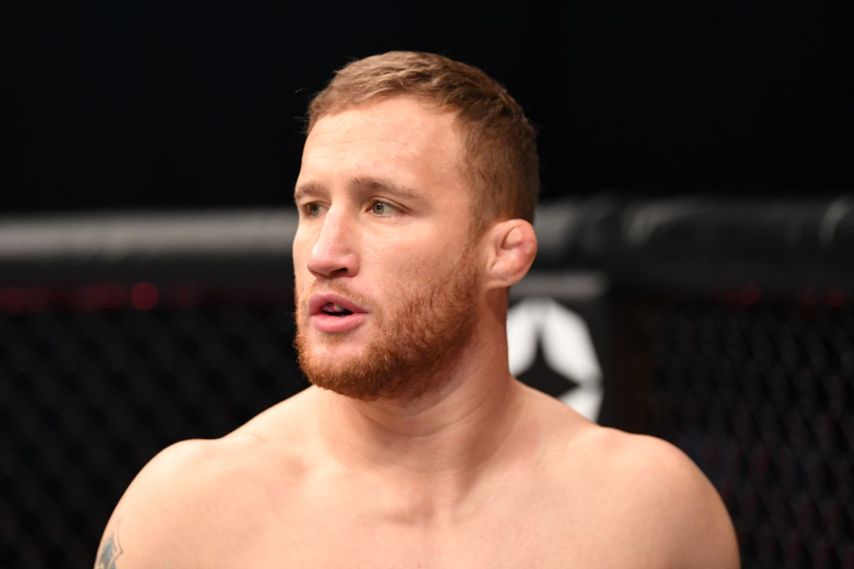 Justin Gaethje was apparently supposed to fight Michael Chandler for the vacant UFC lightweight title, according to manager Ali Abdelaziz.