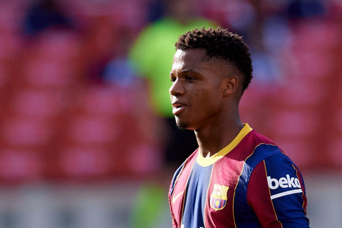 Ansu Fati finishes second in 2020 Golden Boy award