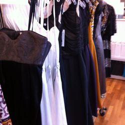 "$175 ""Exclusive Dresses"" rack"