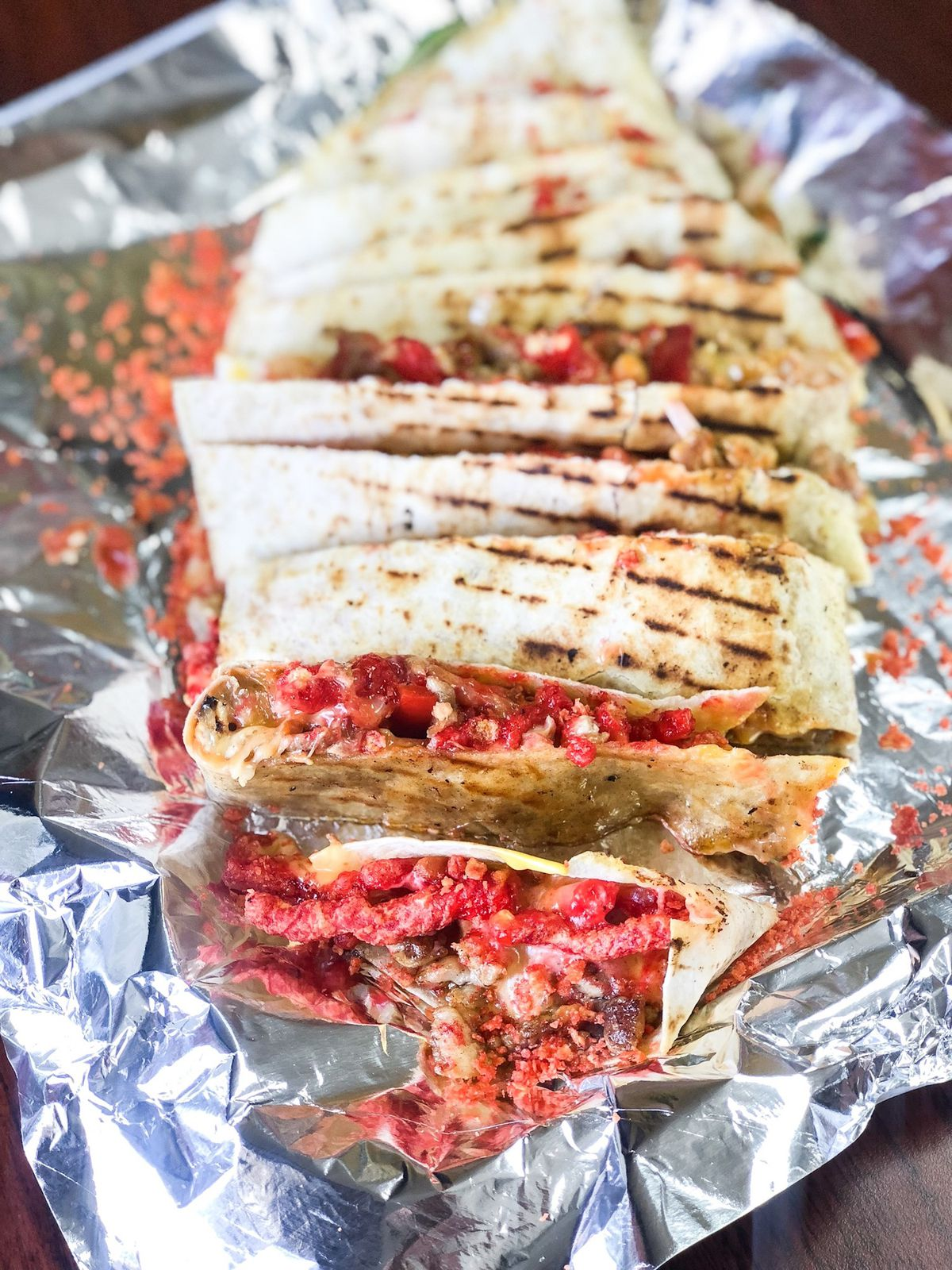 Hot Cheetos Quesadillas Don T Tell The Whole Story At