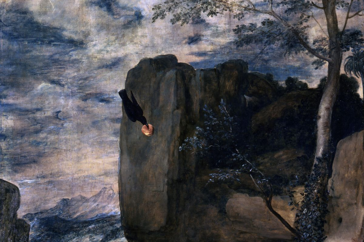 St Anthony and St Paul, the Hermit', 1645. Artist: Diego Velasquez