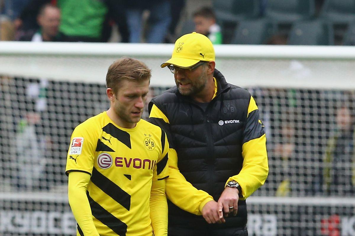 Borussia Moenchengladbach v Borussia Dortmund - Bundesliga