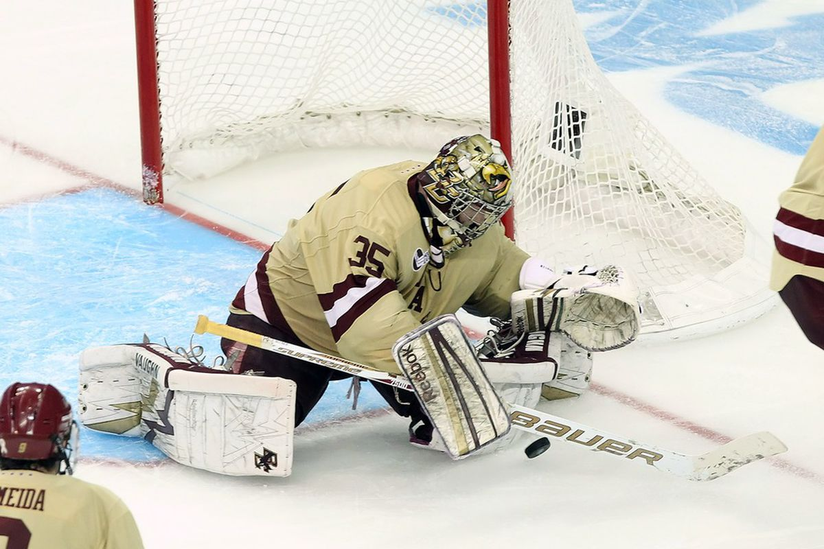 Boston College and Parker Milner will get their shot at revenge this Sunday in a nationally televised game at Merrimack