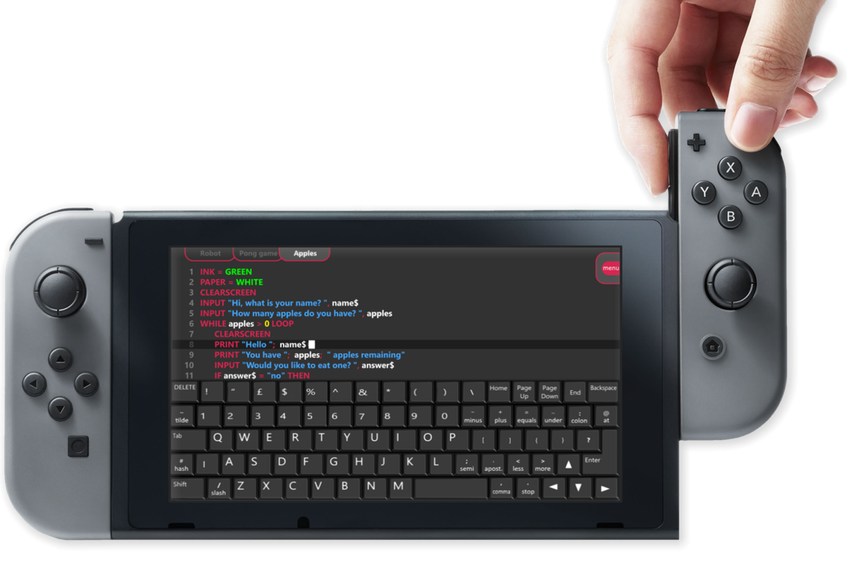 Fuze Code Studio Will Let Kids Use The Switch To Code Their Own - Programming games