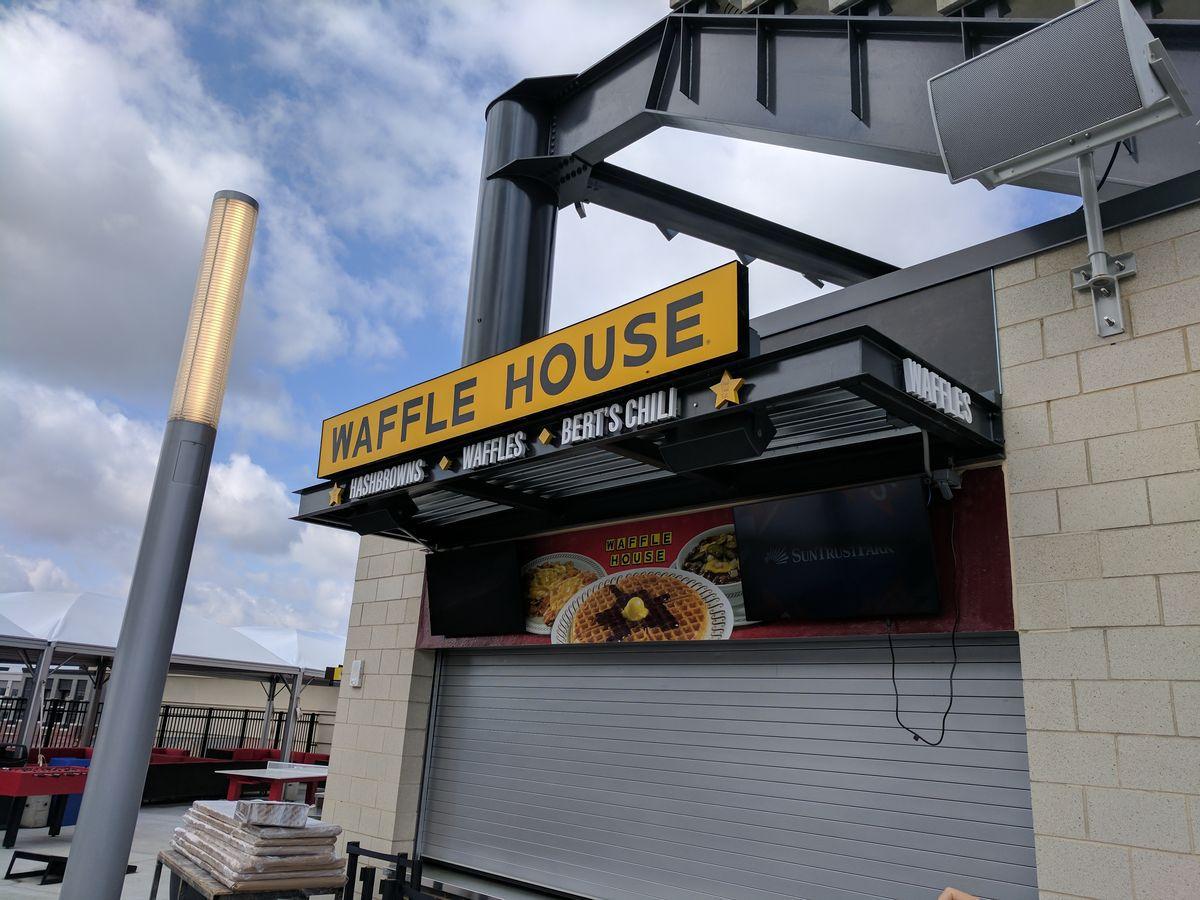 Waffle House inside SunTrust Park.