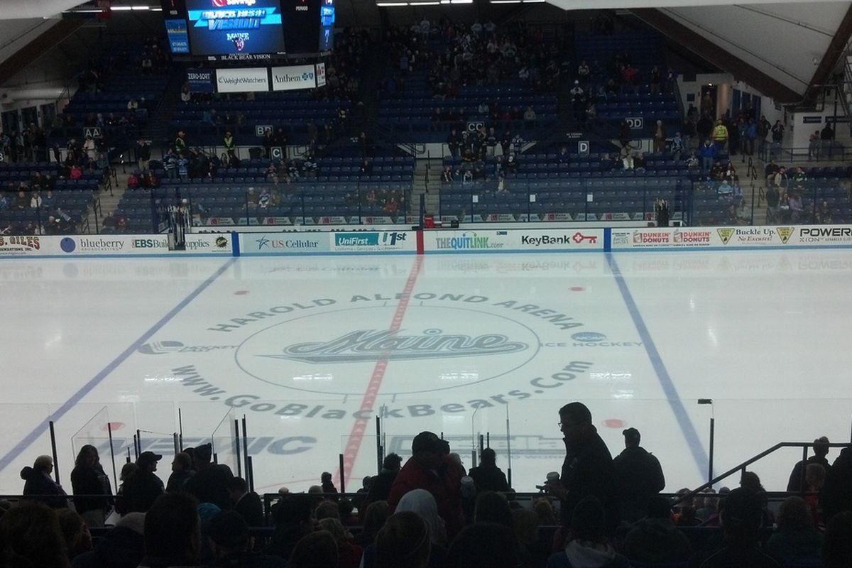 Maine is 3-0-0 at the Alfond Arena this season.