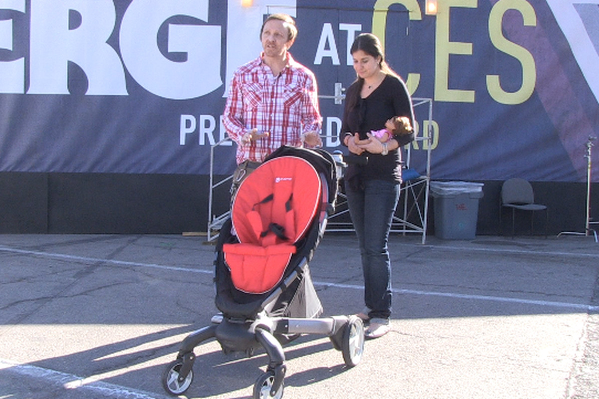 4moms origami is the highest tech stroller yet handson
