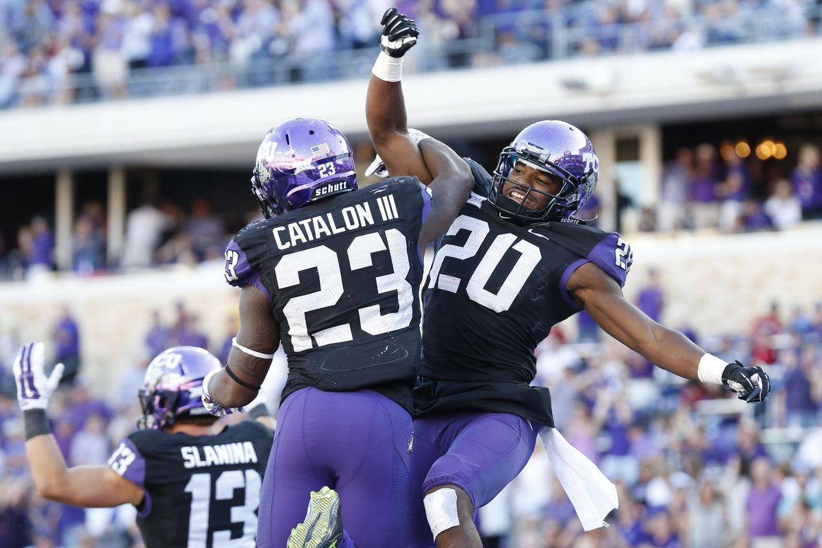 Deante Gray and BJ Catalon giving us one of the best pictures of 2014