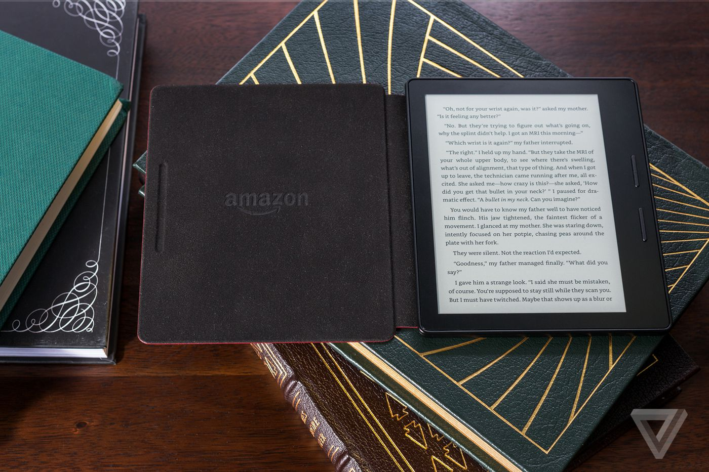 Amazon Kindle Oasis review | The Verge