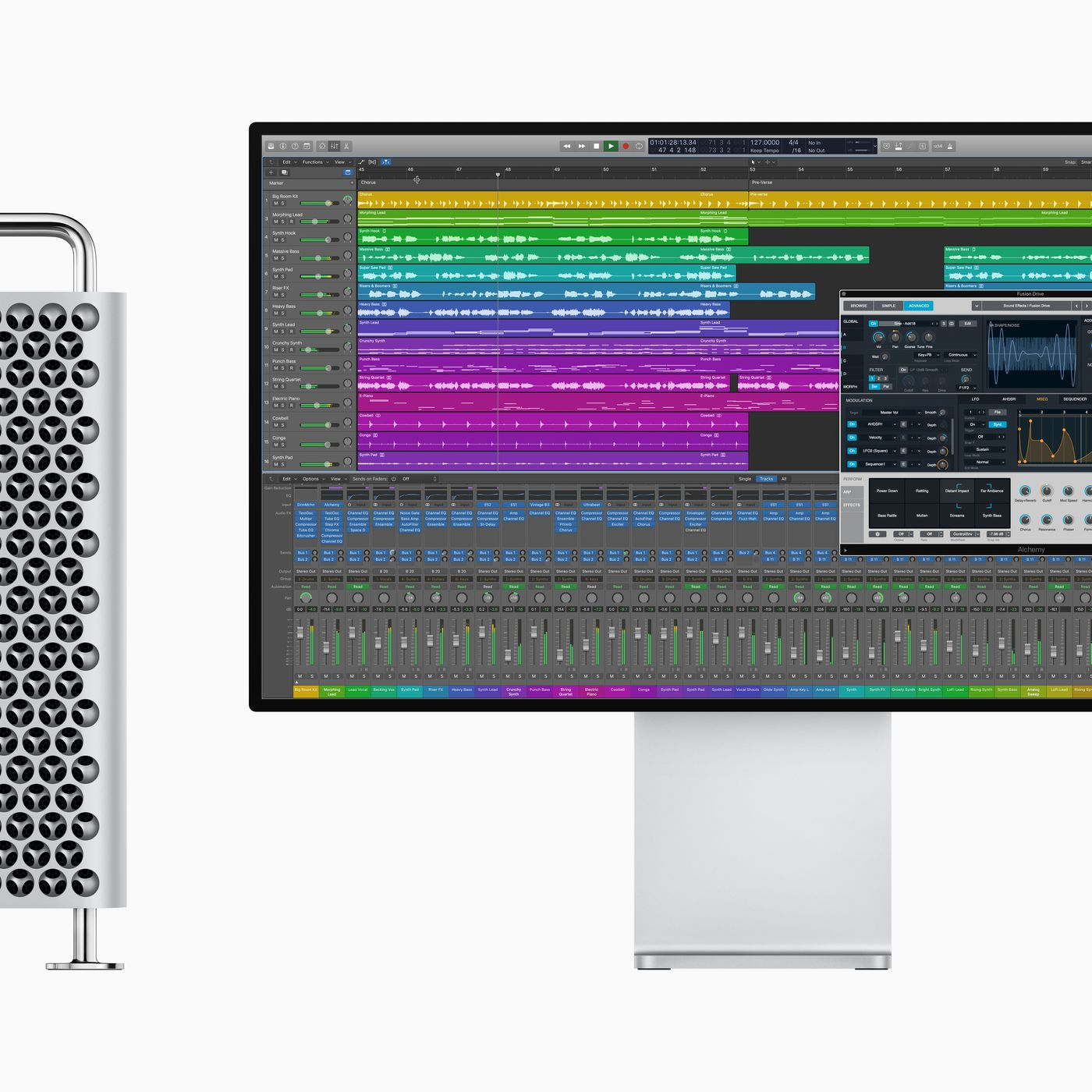 Apple's Logic Pro X update shows just how powerful the new