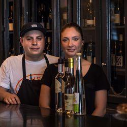 Marc-Olivier Frappier and Vanya Filipovic