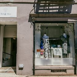 """<b>↑</b><b> <a href=""""http://thistleclover.com/"""">Thistle & Clover</a></b> (221 DeKalb Avenue) emphasizes up-and-coming designers, so you'll be able to find your new favorite brand while flipping through the ones you already love, like <b>Joie</b>, <b>Dusen"""