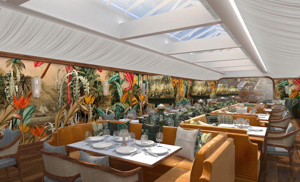 Renderings for new West Hollywood restaurant, Olivetta