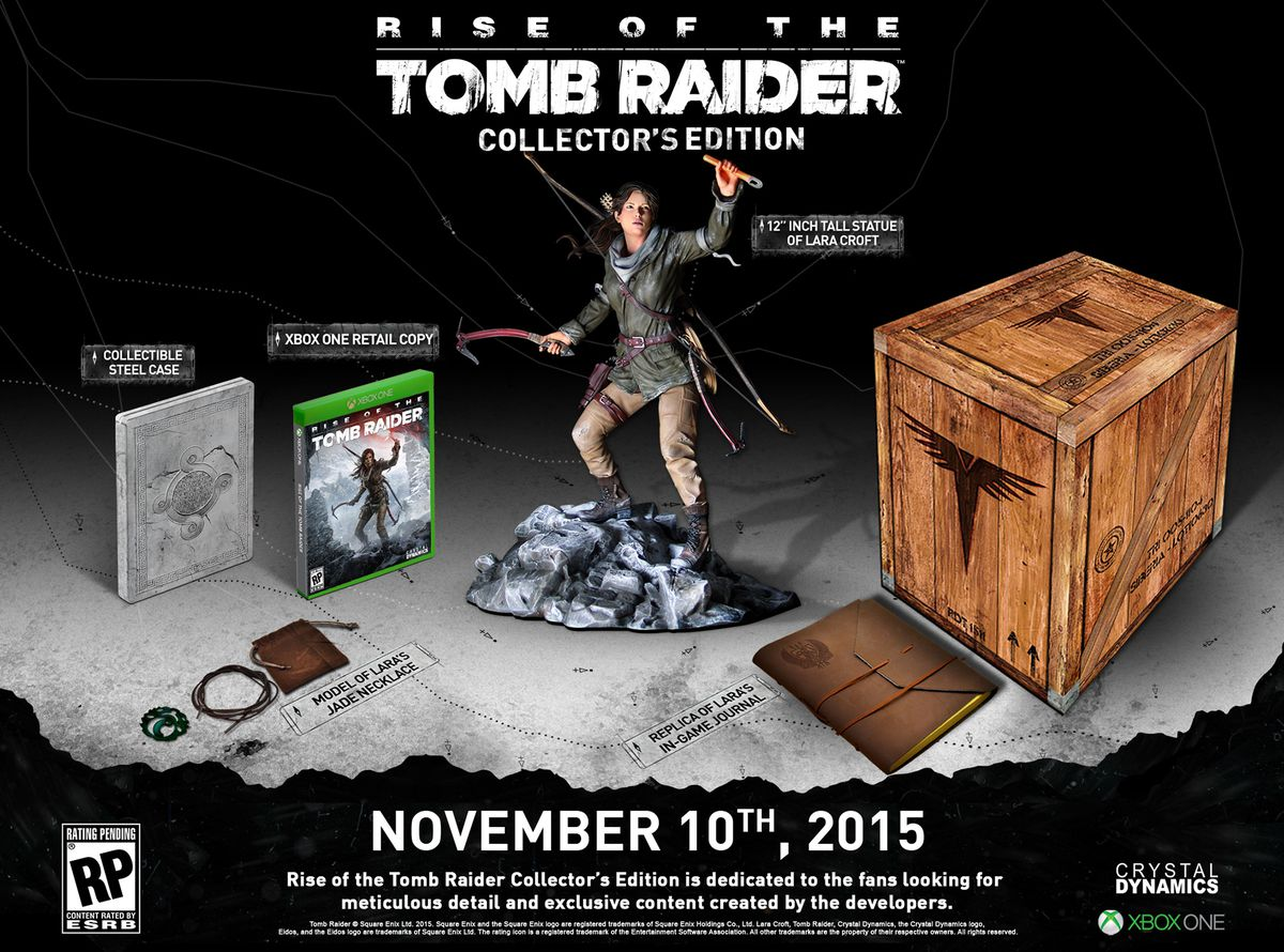 Rise of the Tomb Raider Collector's Edition 1920