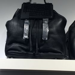 Leather backpack, $195 (was $550)