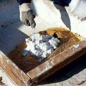 Mixing Lime-Sand Mortar