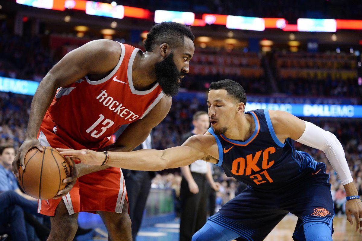 Houston Rockets vs. Oklahoma City Thunder game preview ... Rockets Vs Thunder