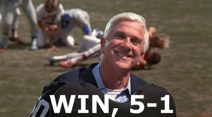 WIN, 5-1