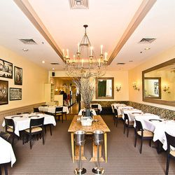 """Much like the restaurant itself, the design at Palena is a simple and straightforward classic. There's the more casual Cafe space that was recently renovated, plus a more elegant dining room for those special occasions.  [Photo: <a href=""""http://underabush"""
