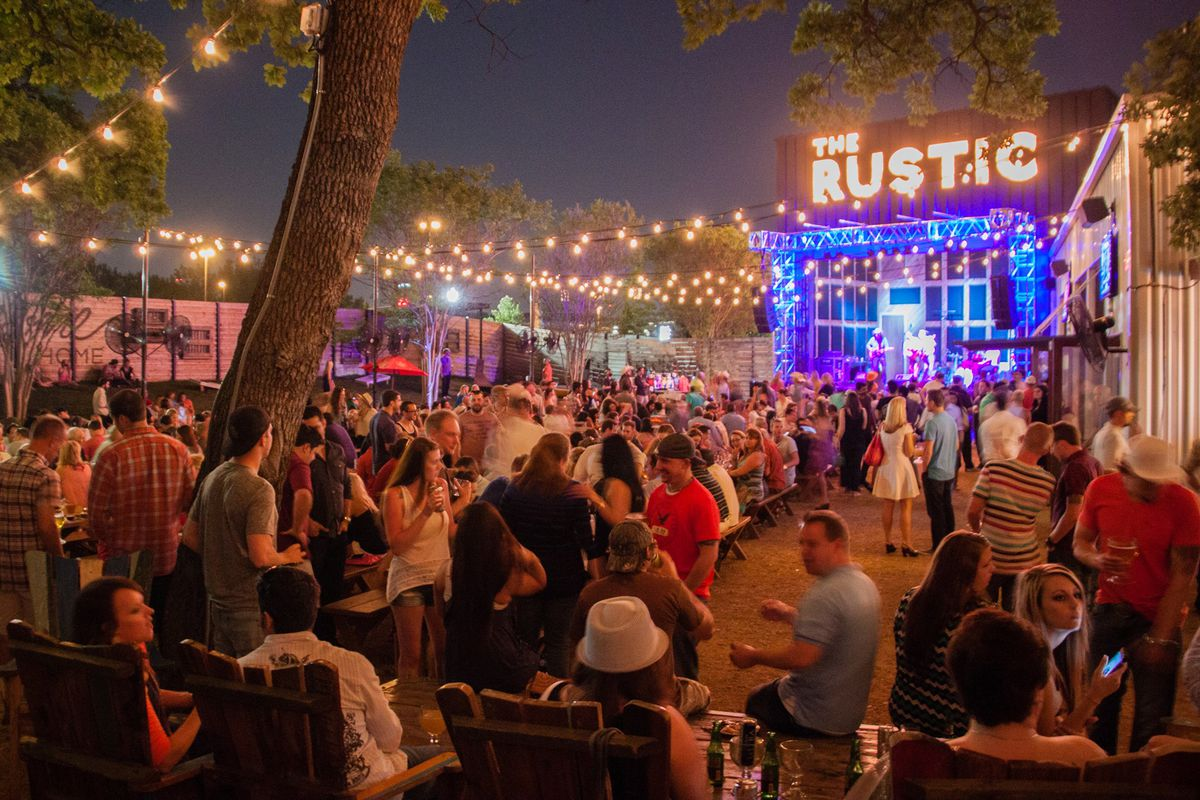 the rustic brings a massive new restaurant, bar and music venue to
