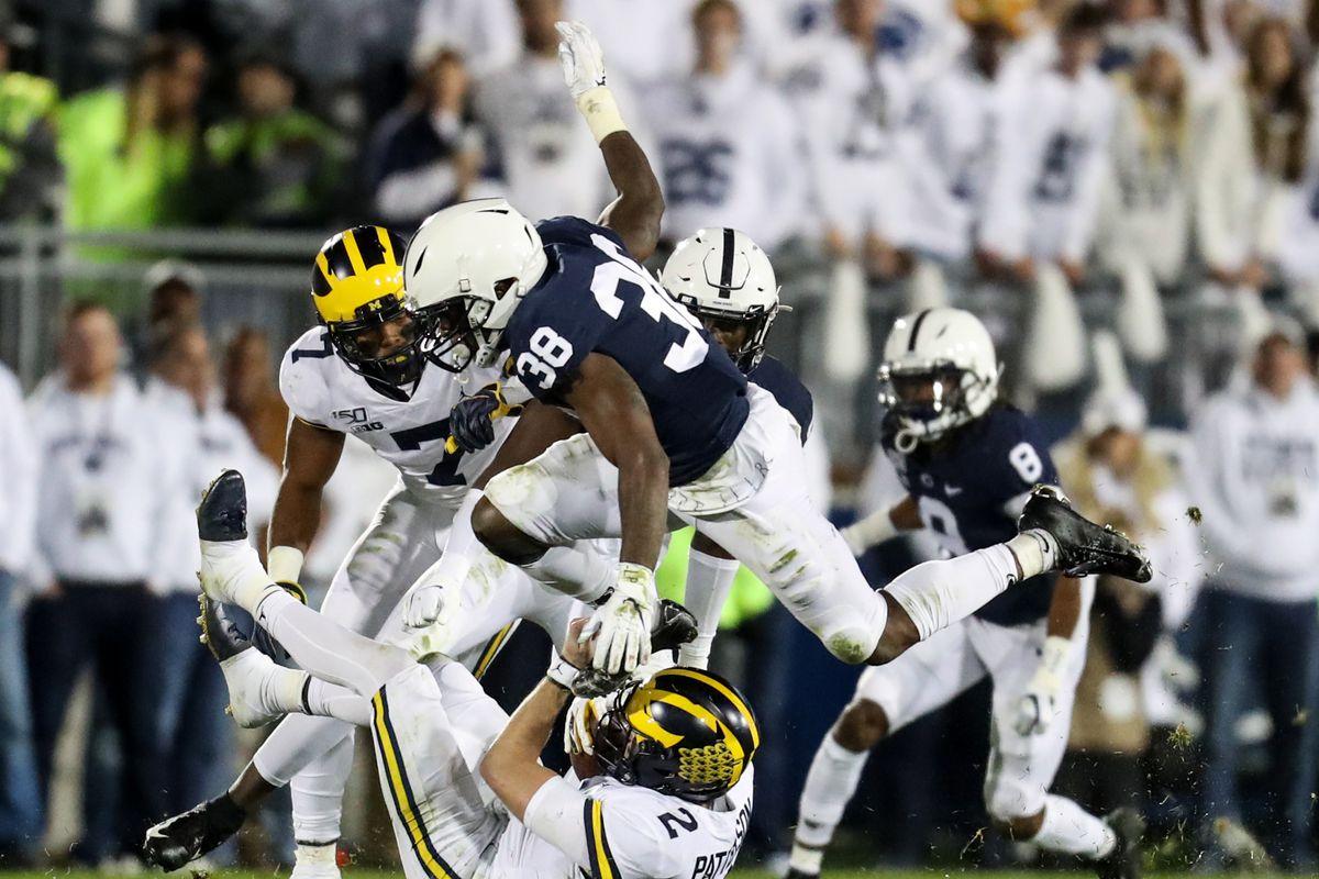 NCAA Football: Michigan at Penn State