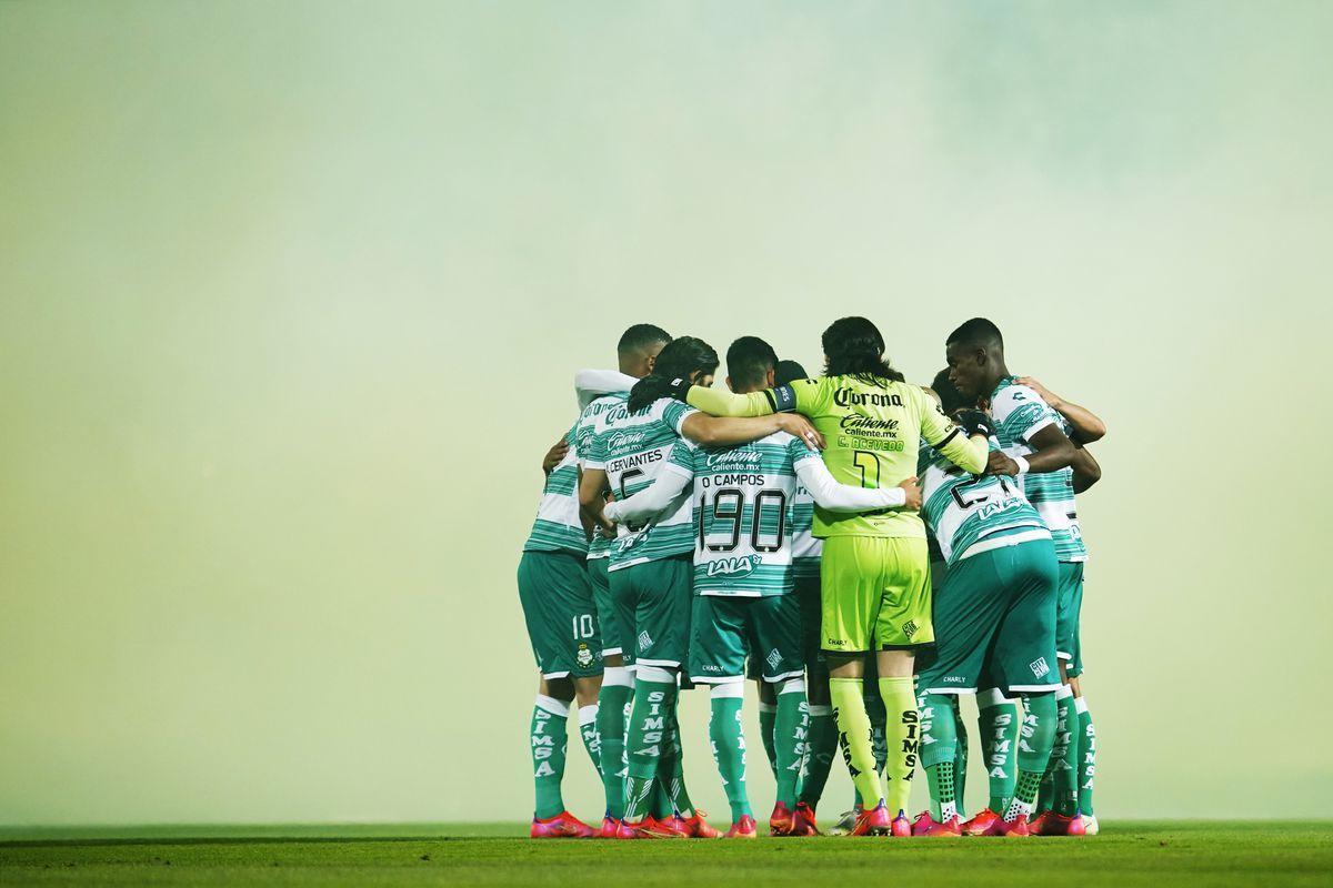 Santos Laguna v Puebla - Playoffs Torneo Guard1anes 2021 Liga MX