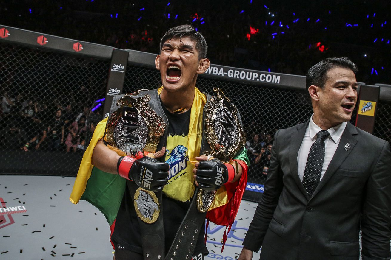 Aung La N Sang puts the middleweight belt on the line later this month.