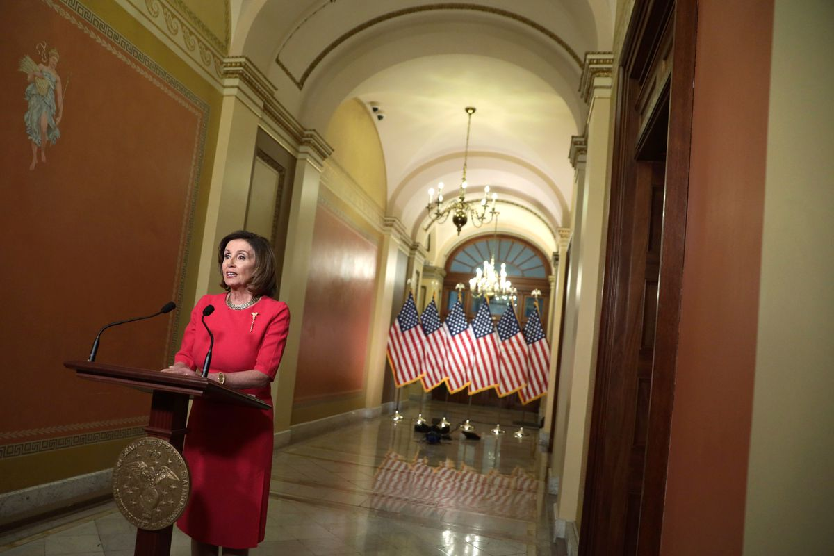 House Speaker Nancy Pelosi Marks 10th Anniversary Of Affordable Care Act