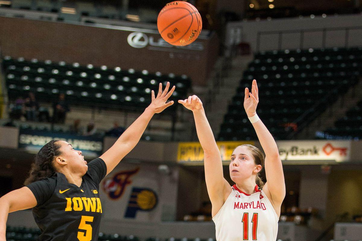 NCAA Womens Basketball: Big Ten Conference Tournament- Maryland vs Iowa