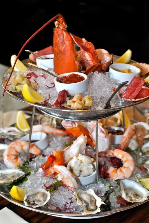 The large shellfish platter at STK