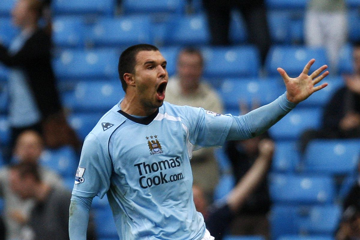 Manchester City's Bulgarian forward Vale