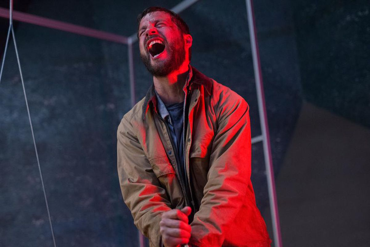 Upgrade is set up as a colorful near-future thriller, but