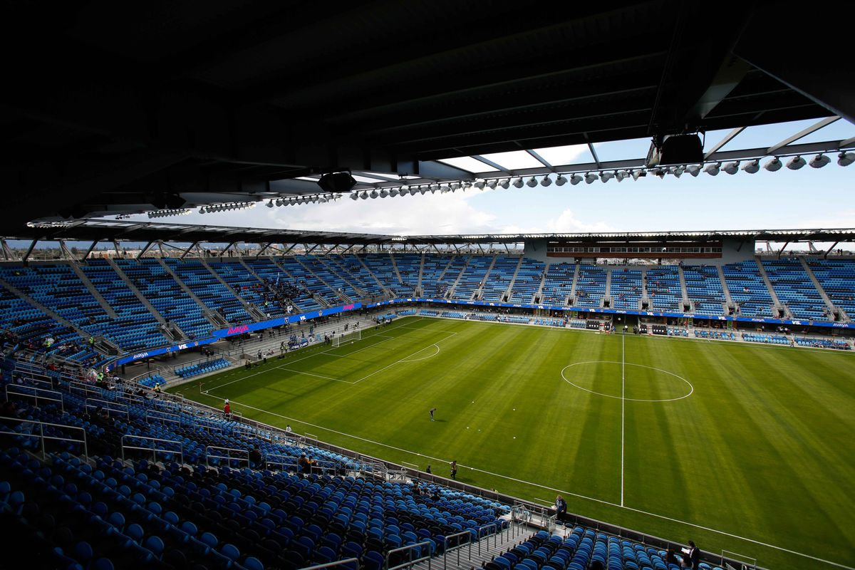 The roof of Avaya Stadium promises to hold in the crowd noise - here's to hoping it's holding in nothing but howls of dismay this evening.