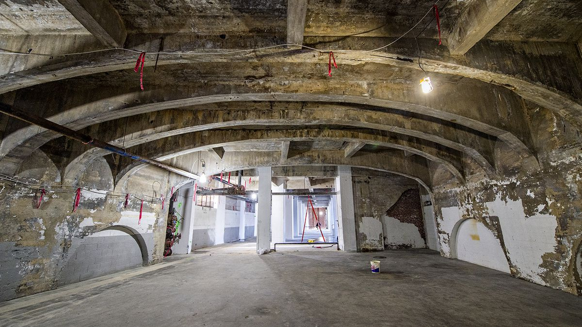 Photos Inside The Renovation Of Norfolk Southern Buildings A