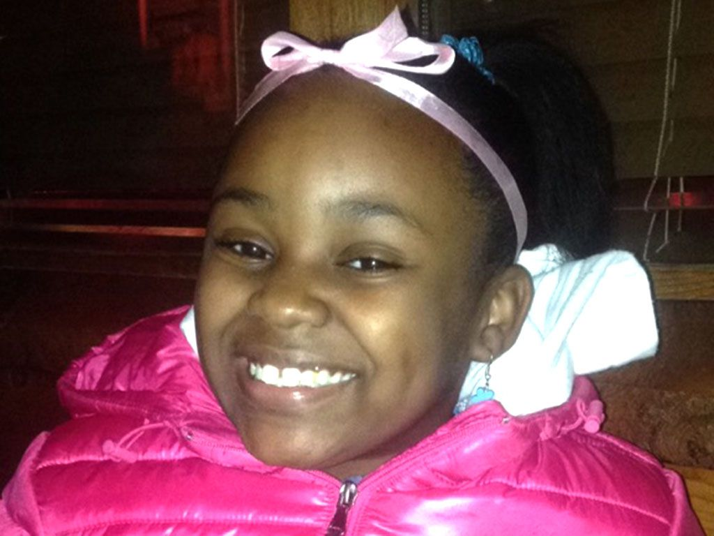 Takiya Holmes, 11, died Tuesday after being shot in the head in the Parkway Gardens neighborhood.   Family photo