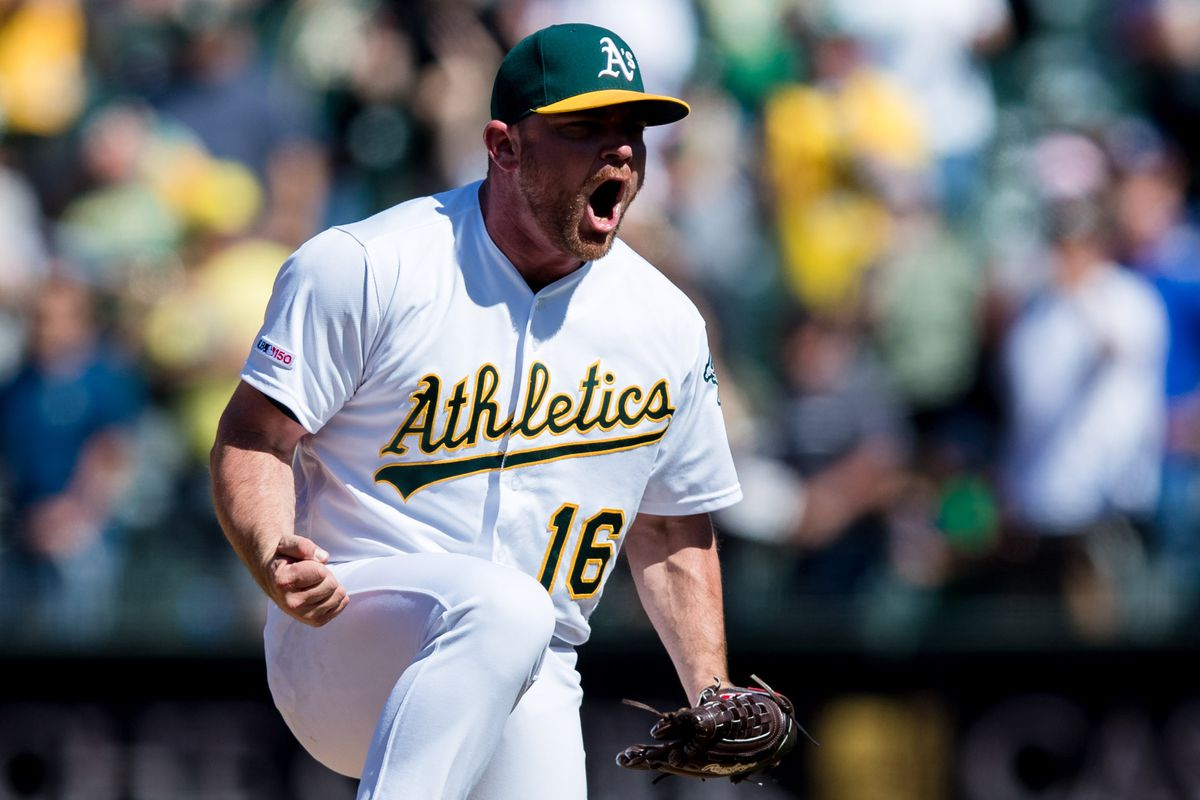 on sale 0a979 12630 John Hefti-USA TODAY Sports. Oakland A s relief pitcher Liam Hendriks has  been named to the 2019 American League All-Star team.