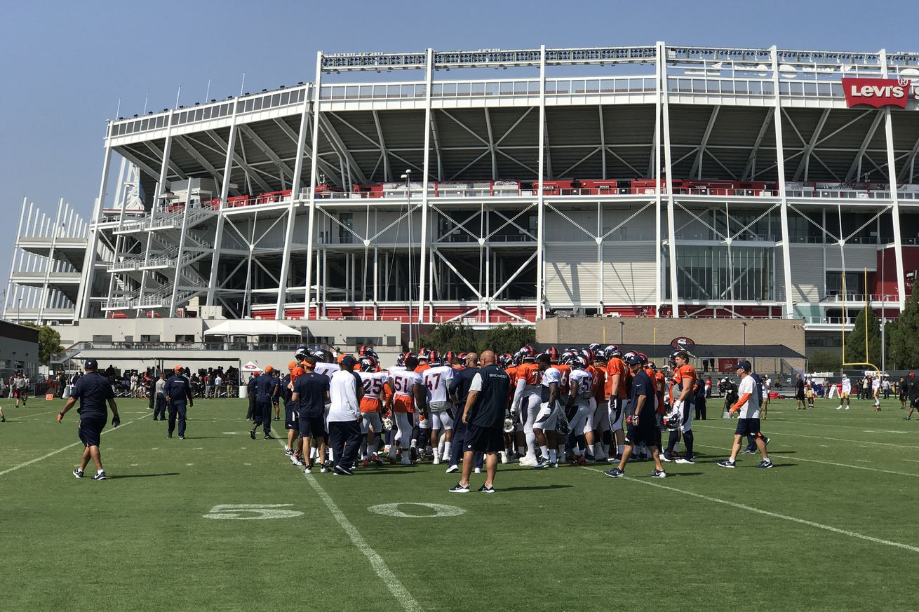 49ers-Broncos joint camp recap: One-on-one battles, strong defense were what to watch